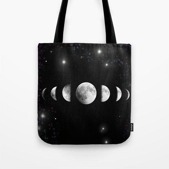 Stars and Moons Tote Bag