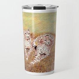 Resting Cheetahs Travel Mug