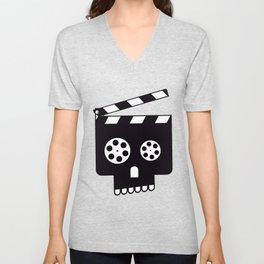 Horror Movie Fan Unisex V-Neck