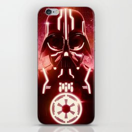 Tron Vader Red iPhone Skin