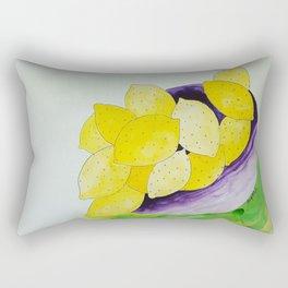 Lemon Bowl Rectangular Pillow