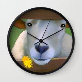 Sheepish Wall Clock