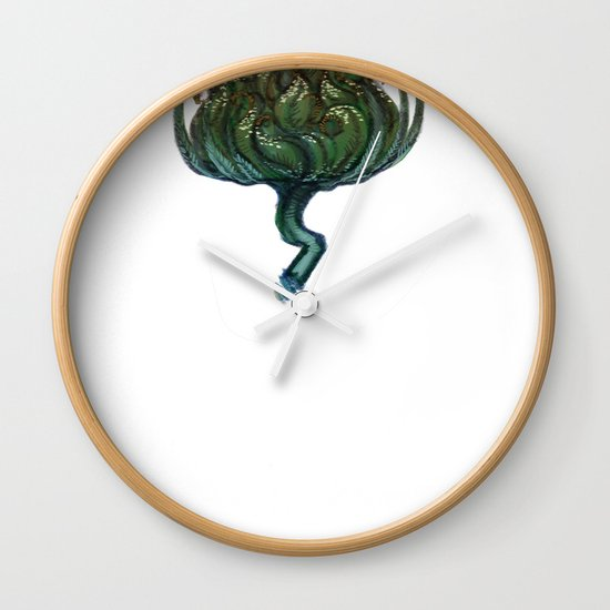 My Favorite Flower Wall Clock