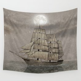 Night Journey  Wall Tapestry