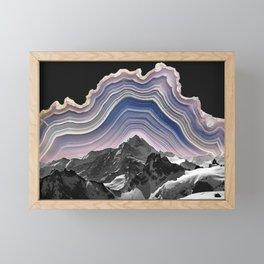 Agate Mountains Framed Mini Art Print