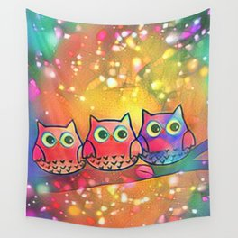 owl 144 Wall Tapestry