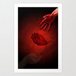 Take My Heart Art Print