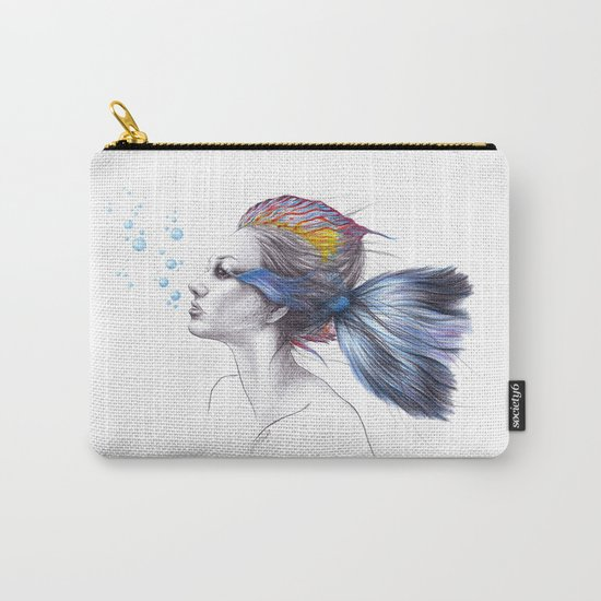 When I was a fish Carry-All Pouch
