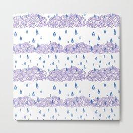 Raindrops keep falling... Metal Print