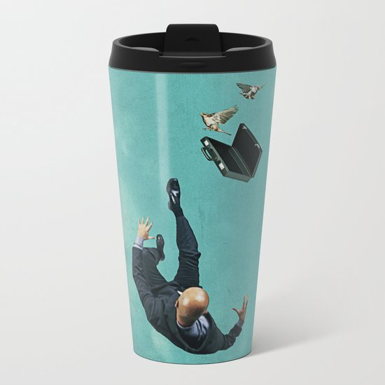 The salesman Metal Travel Mug
