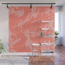 Adrift - Abstract Suminagashi Marble Series - 08 Wall Mural