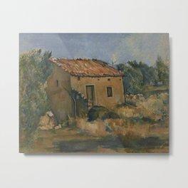 Abandoned House near Aix-en-Provence Metal Print