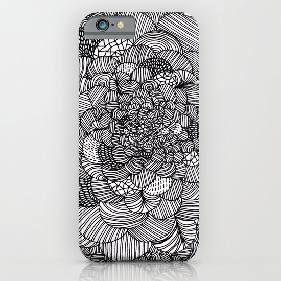 Ink flowers iPhone & iPod Case
