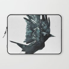 Crow Taking Off Laptop Sleeve