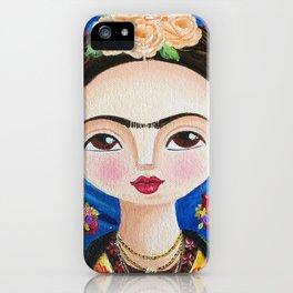 Frida, Intimidades del Corazón iPhone Case