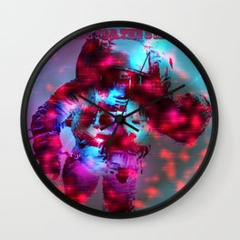 Reach for the Stars Wall Clock