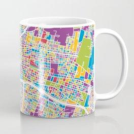 Mendoza Argentina City Street Map Coffee Mug