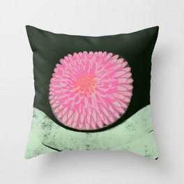 The Blossom of Peace Throw Pillow