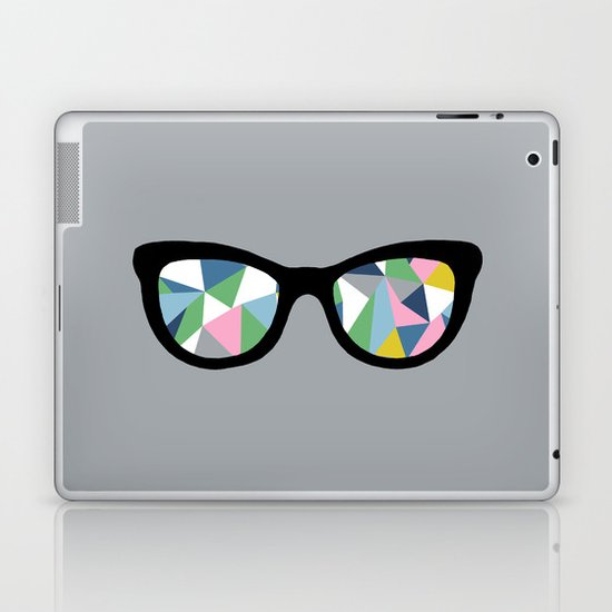 Abstract Eyes Laptop & iPad Skin