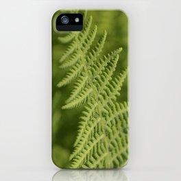 Jane's Garden - Fern Fronds iPhone Case