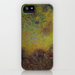 Beautiful and Deep earth's landscape view iPhone Case