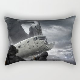 Railgun Wars Rectangular Pillow