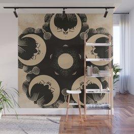 Ouija Wheel of the Moon - Beyond the Veil Wall Mural