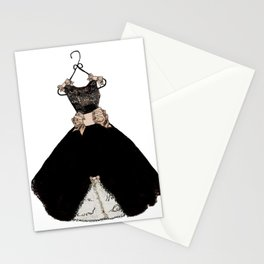 My favorite black dress Stationery Cards