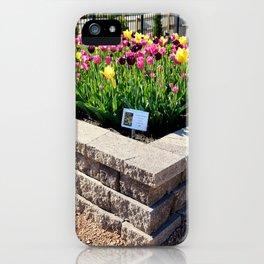 "Muscogee (Creek) Nation - Honor Heights Park Azalea Festival, Tulip ""Critical Mass"" iPhone Case"