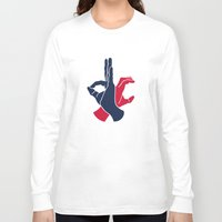 dc Long Sleeve T-shirts featuring DC by Jason Douglas Griffin
