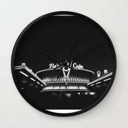 Cars Land Flo  Wall Clock