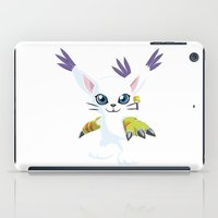 digimon iPad Cases featuring DIGIMON - Gatomon by Daniel Bevis