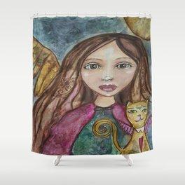 Spirit Traveler  Shower Curtain