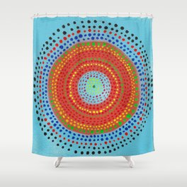 Dotto 16 Shower Curtain