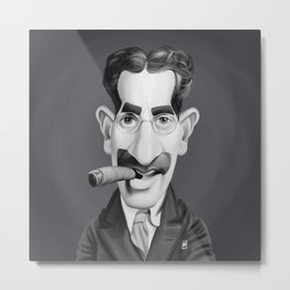 Groucho Marx Metal Print