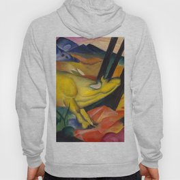 "Franz Marc ""Yellow cow"" Hoody"