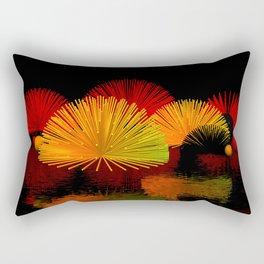 geometric horizon -7- Rectangular Pillow