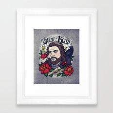 Sean Bean Framed Art Print