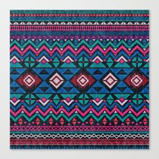 Aztec Forever Canvas Print