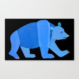 unleash your inner bear Canvas Print