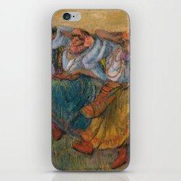 """Edgar Degas """"Russian dancers"""" iPhone Skin"""