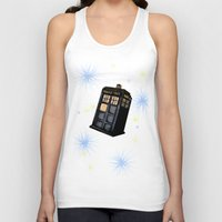 tardis Tank Tops featuring TARDIS by Colunga-Art