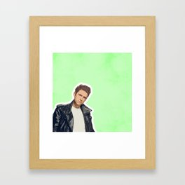 Aaron Tveit Framed Art Print
