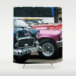 Vintage American Shower Curtain