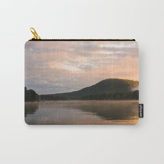 First Light (Sunrise on Lake George) Carry-All Pouch