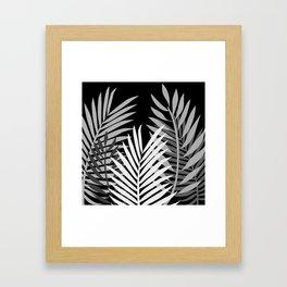 TROPICAL PALM LEAVES 1 Framed Art Print