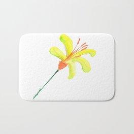 flor de cítrico Bath Mat