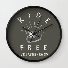 breathe easy Wall Clock