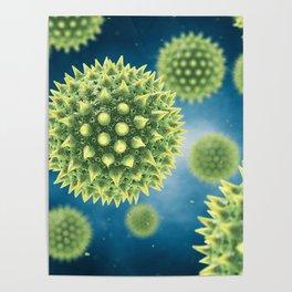 Pollen allergy Poster