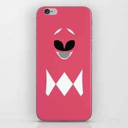 Pink Ranger, Power Ranger, Hero iPhone Skin